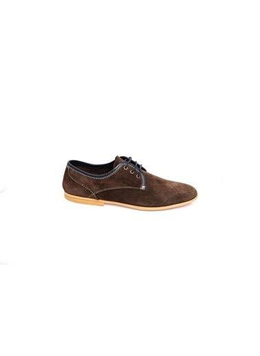 Wessi Bağcıklı Süet Ayakkabı Kahve